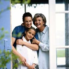 Surrounding Arms In Home Care Service