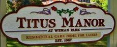 Titus Manor at Wyman Park