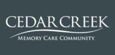 Cedar Creek Memory Care (Opening Early 2018)
